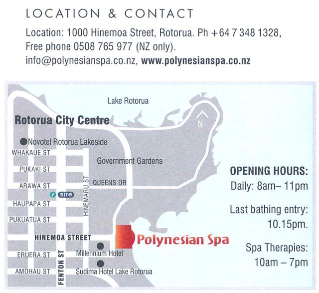 Polynesian Spa, Rotorua, New Zealand