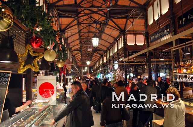 サンミゲル市場 マドリード