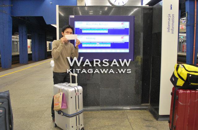 ポーランド旅行記 夜行列車