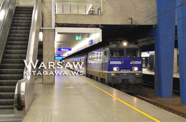 ワルシャワからウィーン 夜行列車 鉄道