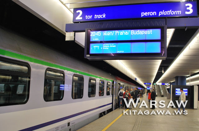 ワルシャワ ウィーン 鉄道