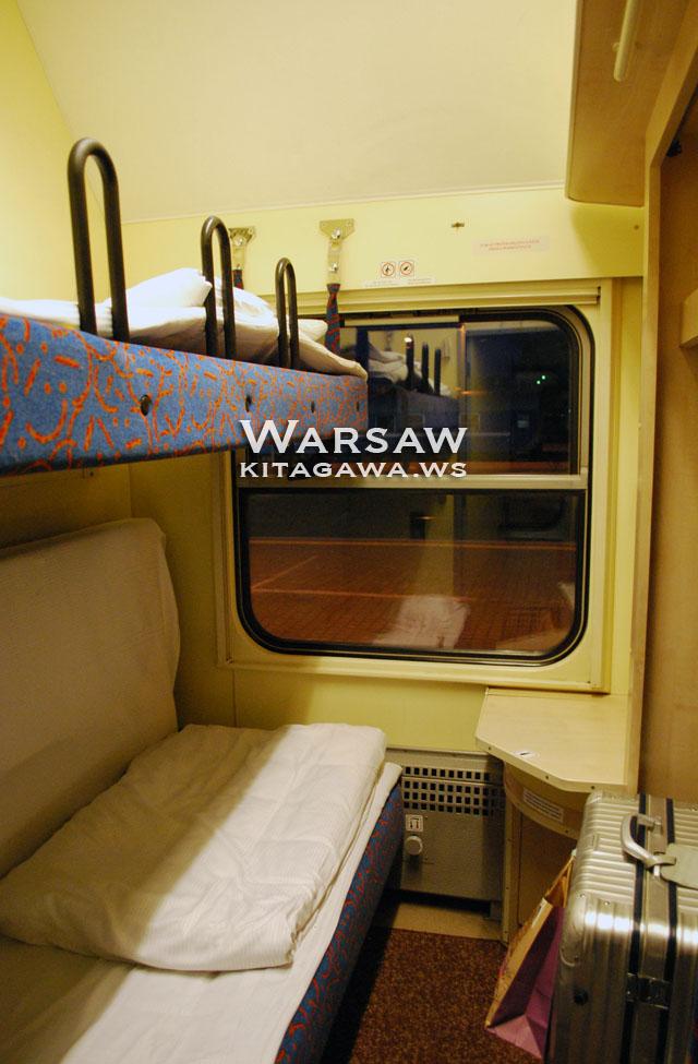 ワルシャワからウィーン 夜行 鉄道