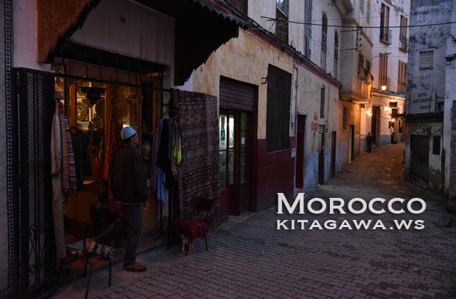 モロッコ 夜景