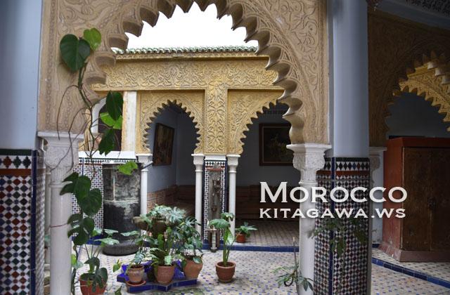 モロッコ パティオ