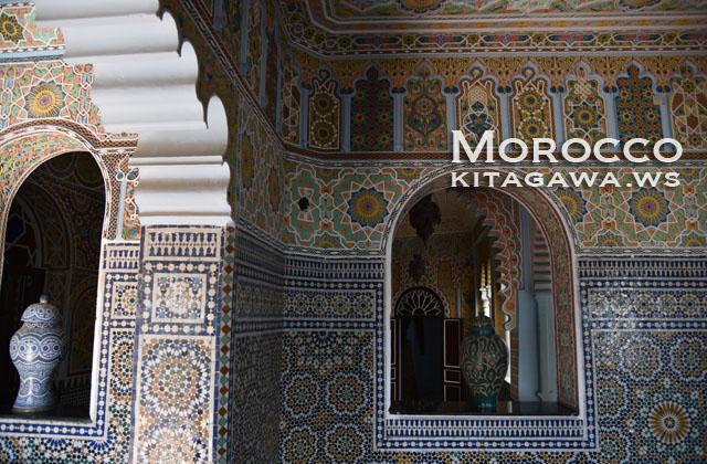 モロッコ ゼリージュ タイル
