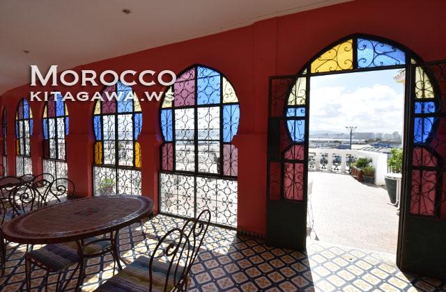 モロッコ ステンドグラス