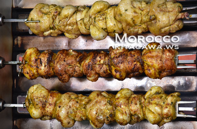 チキン モロッコ