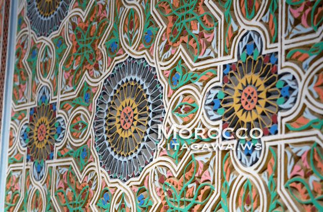 モロッコ 壁