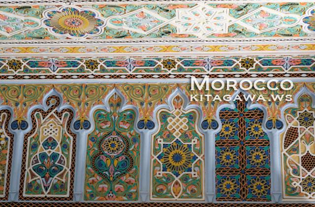 モロッコ 伝統装飾