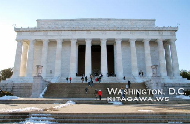 リンカーン記念堂 Lincoln Memorial