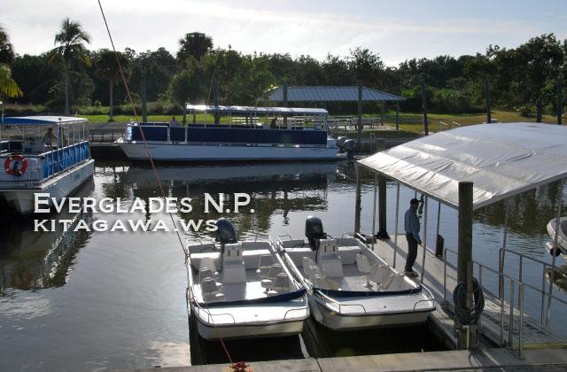 エバーグレーズ国立公園 ボートツアー