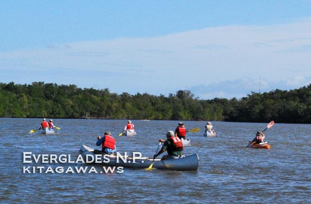 エバーグレーズ国立公園 カヌー