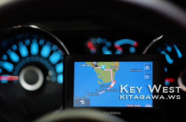アメリカ GPS カーナビ