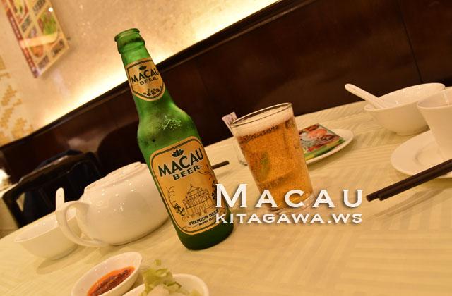 """マカオビール・ブロンドエール""""金牌"""""""