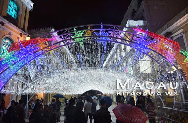 セナド広場 クリスマス ライトアップ