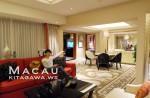 シェラトンマカオホテルのエグゼクティブデラックススイート