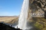 セリャラントスフォス 滝 アイスランド