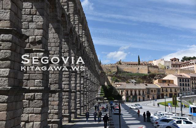セゴビア 城塞都市