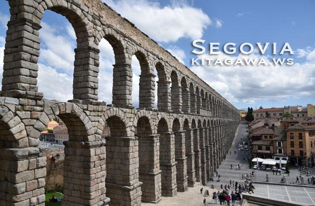セゴビア 水道橋 スペイン