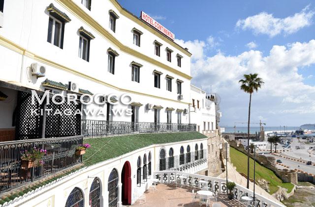 ホテル コンチネンタル Hotel Continental モロッコ タンジェ