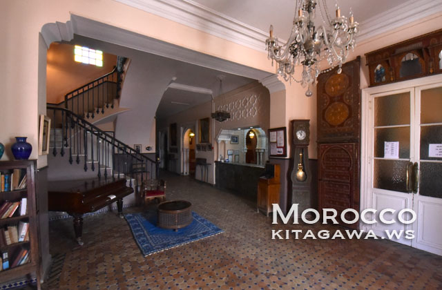 ホテル コンチネンタル モロッコ タンジェ