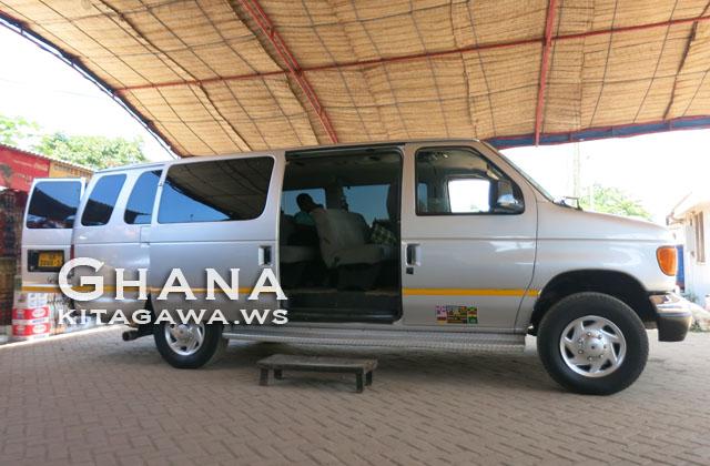 ガーナ バス