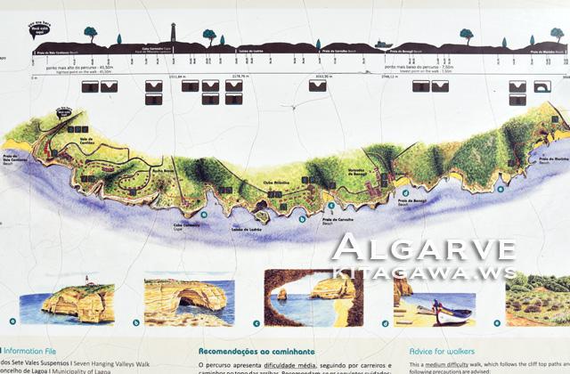 アルガルヴェ地図