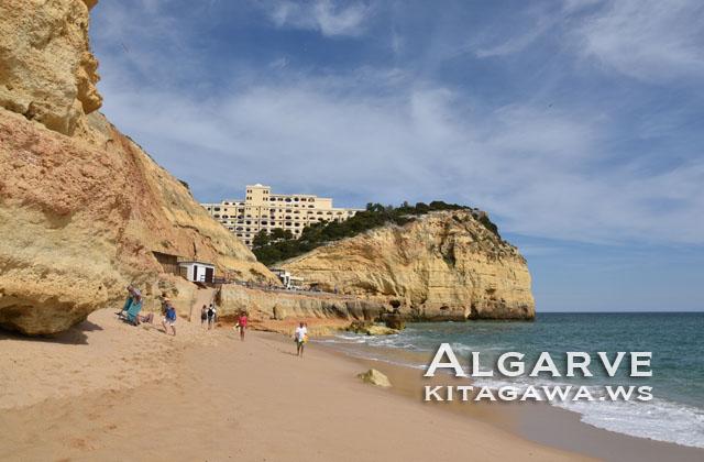 アルガルヴェ ビーチ ポルトガル