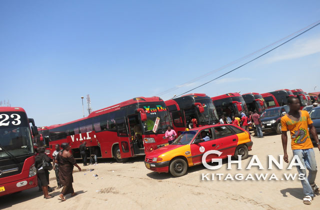 バス VIP ガーナ