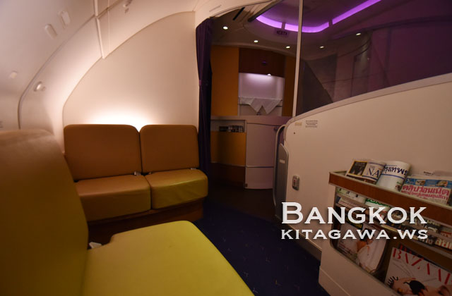 TG A380 バーラウンジ