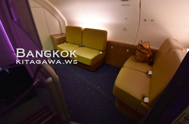 タイ航空 A380 ファーストクラス 搭乗記