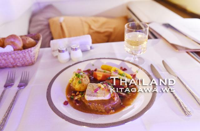 タイ航空 ファーストクラス 機内食