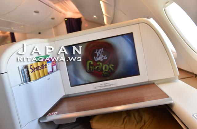 タイ航空 機内エンターテインメント