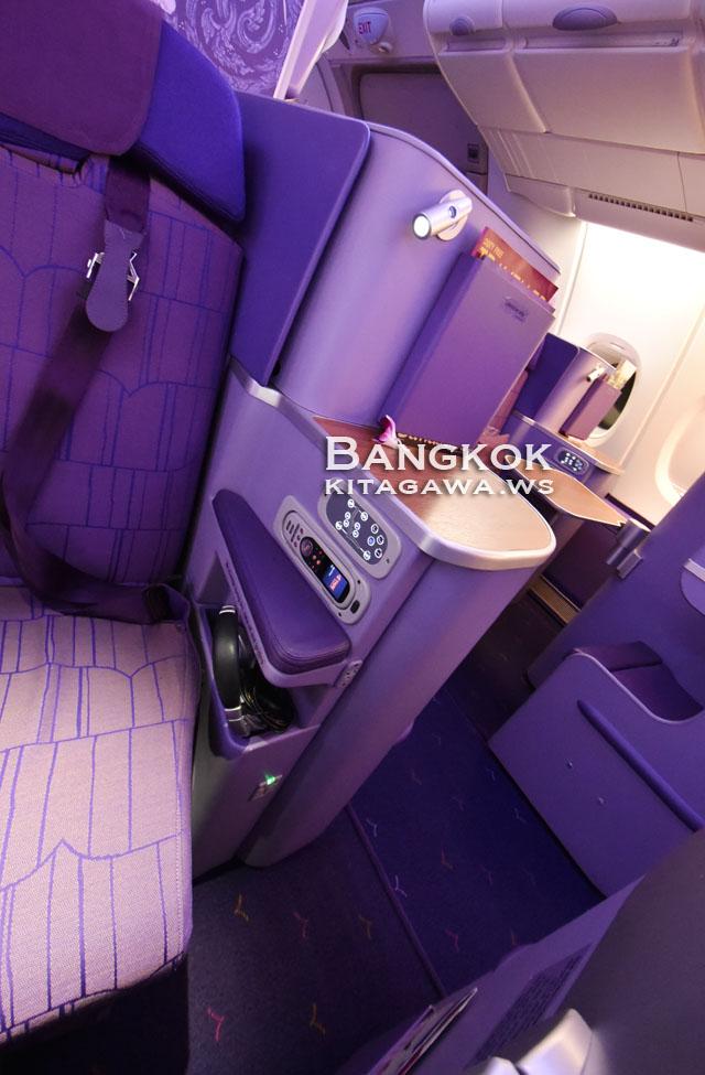 タイ国際航空 TG A380 ビジネスクラス