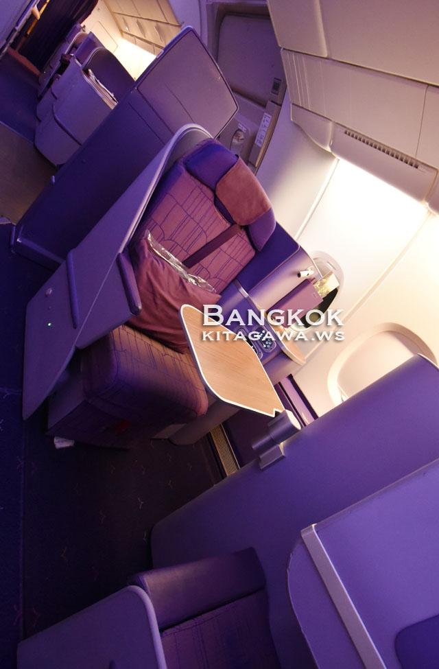 タイ国際航空 A380 ソロシート