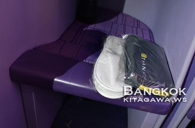 タイ航空ビジネスクラス機内アメニティ