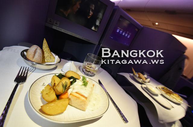 タイ航空ロイヤルシルク機内食