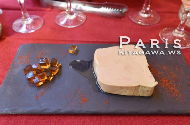 フォアグラ パリ レストラン