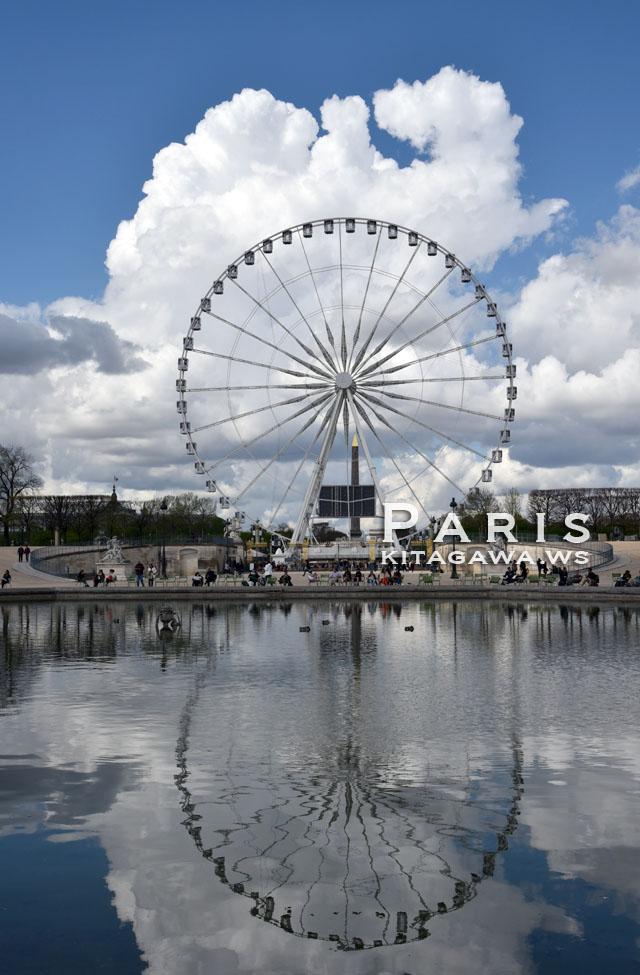 コンコルド広場の大観覧車 パリ