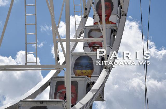 パリ 観覧車 コンコルド広場