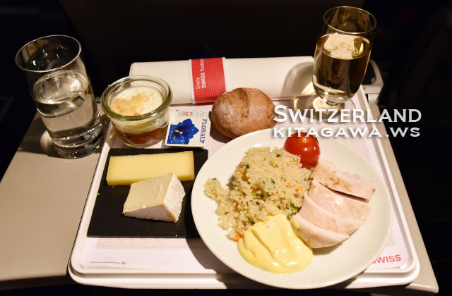 スイス航空 機内食