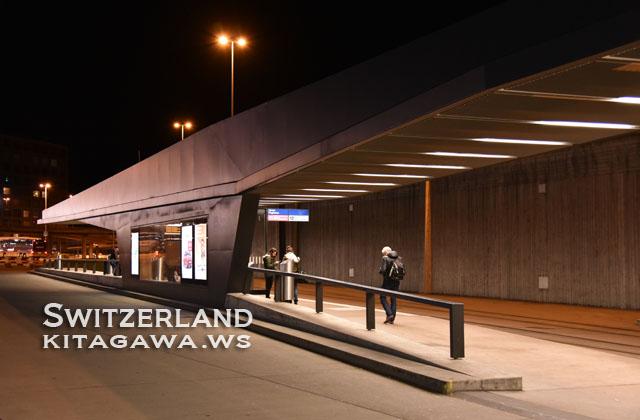スイス チューリッヒ バスターミナル