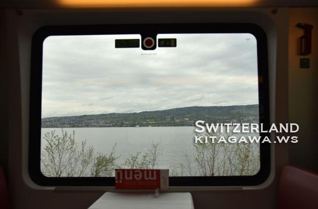 スイス 鉄道旅行