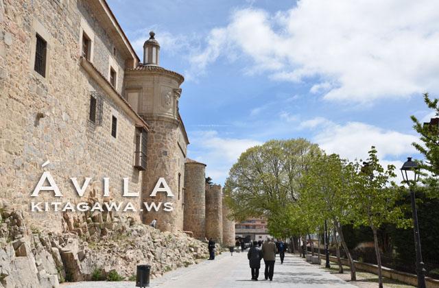 スペイン 世界遺産 アビラ