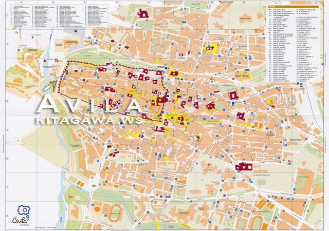 アヴィラ地図