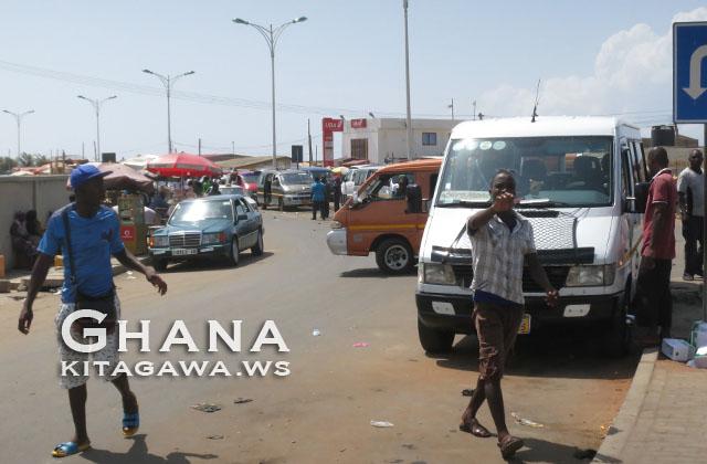 アフラオ国境 Aflao Border