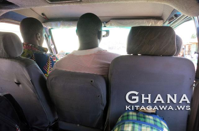 トーゴ ガーナ 国境越え