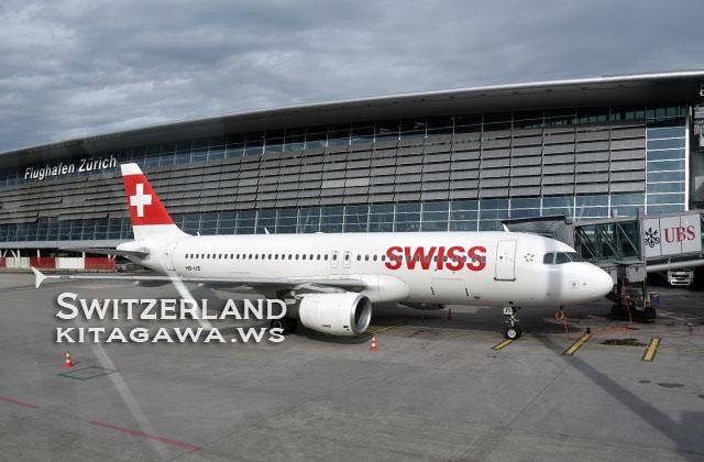 SWISS エアバス A320