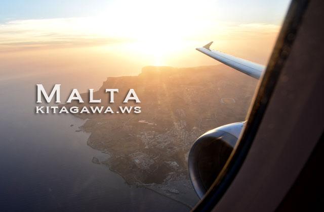 マルタ飛行機