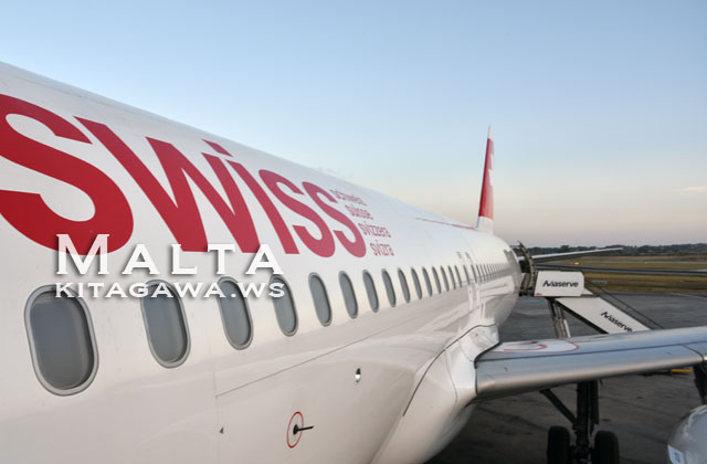 スイスインターナショナルエアラインズA320ビジネスクラス搭乗記